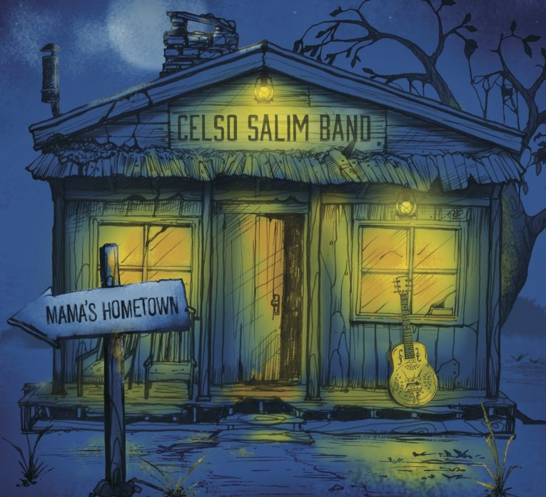 Album review, Mama's Hometown, The Celso Salim Band, Rock and Blues Muse