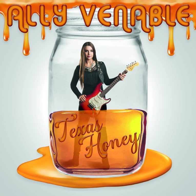 Texas Honey, Ally Venable, album review, Rock and Blues Muse, blues-rock