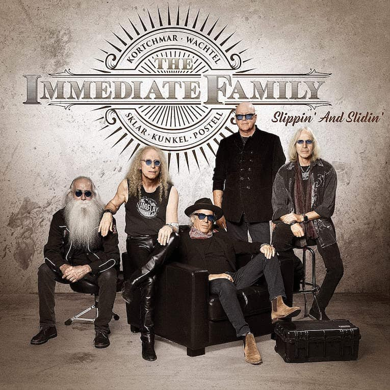The Immediate Family Slippin' and Slidin' EP cover