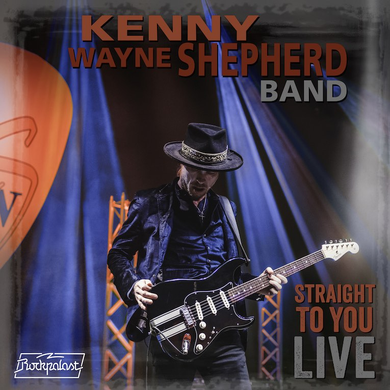Kenny Wayne Shepherd Band 'Straight To You Live' DVD cover