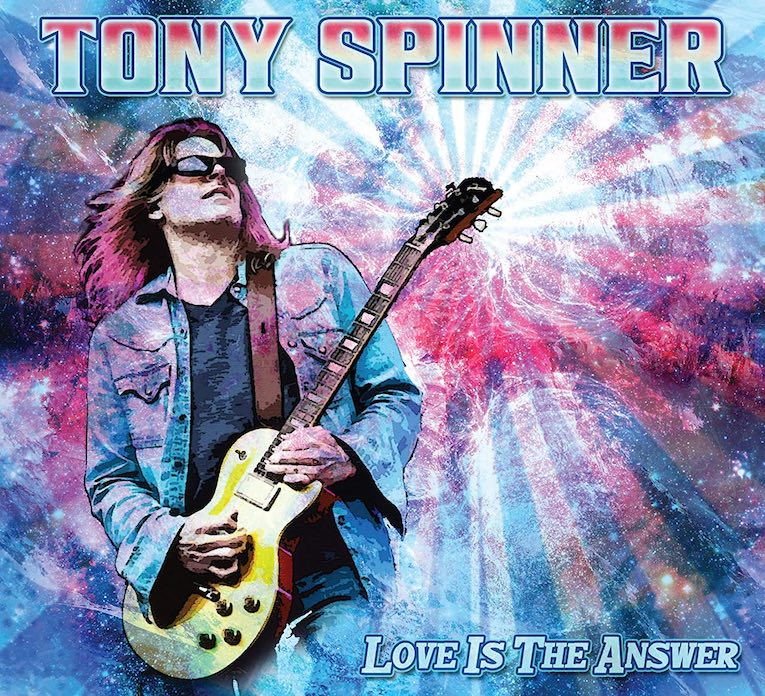 Tony Spinner Love is The Answer album cover