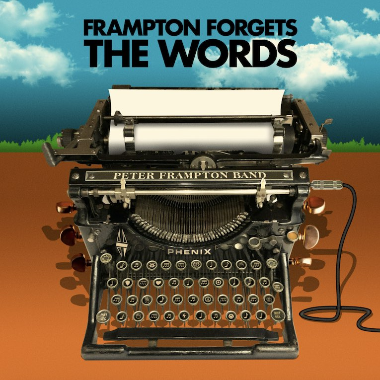 Frampton Forgets the Words Peter Frampton Band album cover