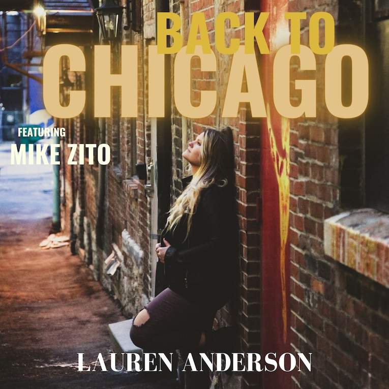 Lauren Anderson Back To Chicago feat. Mike Zito single cover