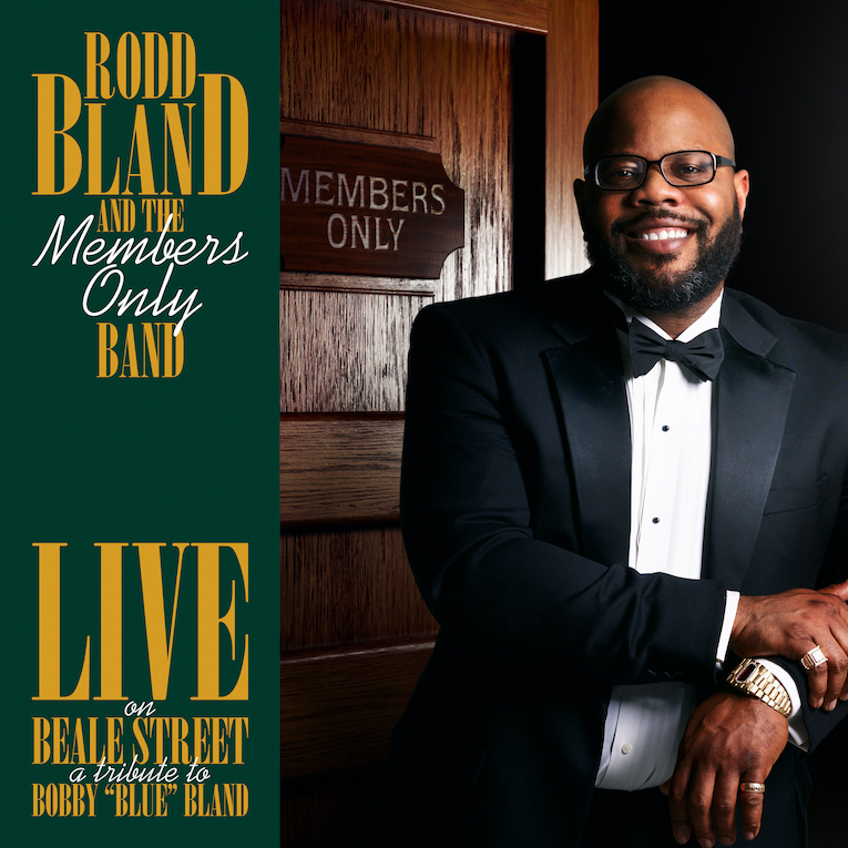 """Rodd Bland 'Live On Beal Street: A Tribute to Bobby """"Blue"""" Bland album cover"""