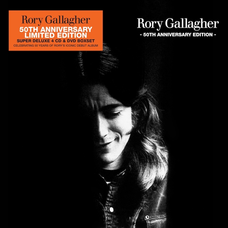 Rory Gallagher 50th Anniversary Limited Edition album cover