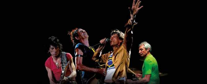 The Rolling Stones—A Bigger Bang: Live On Copacabana Beach front cover