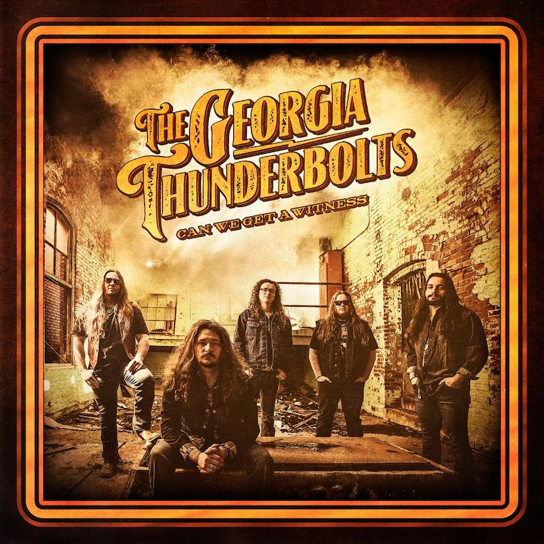 The Georgia Thunderbolts Can We Get a Witness album cover